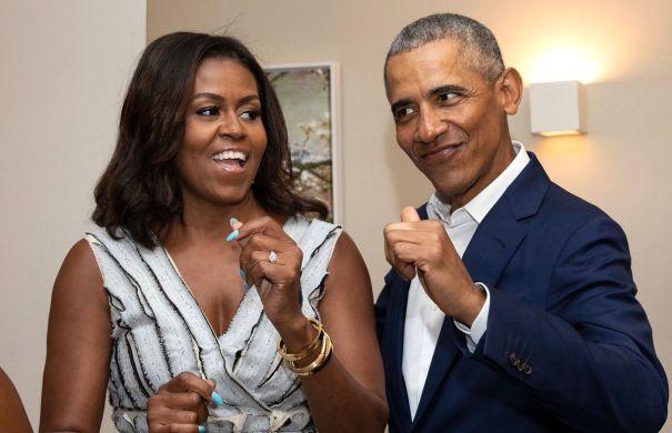 Barack Obama + Michelle Obama