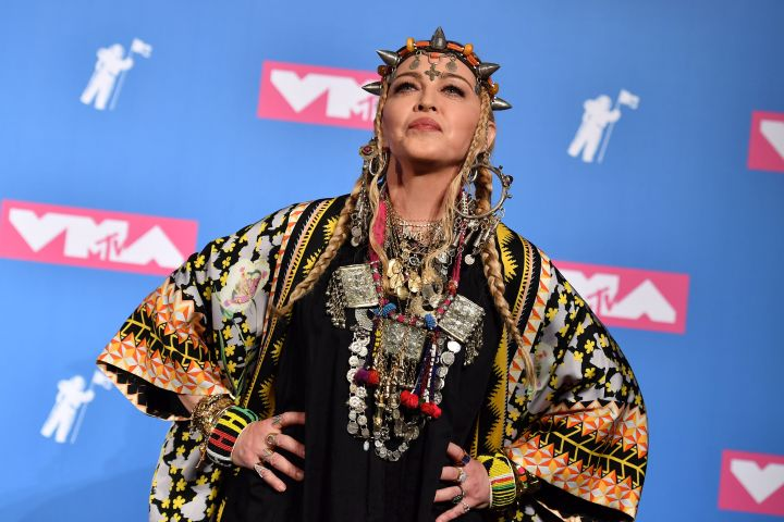 Madonna. Photo: ANGELA WEISS/AFP via Getty Images