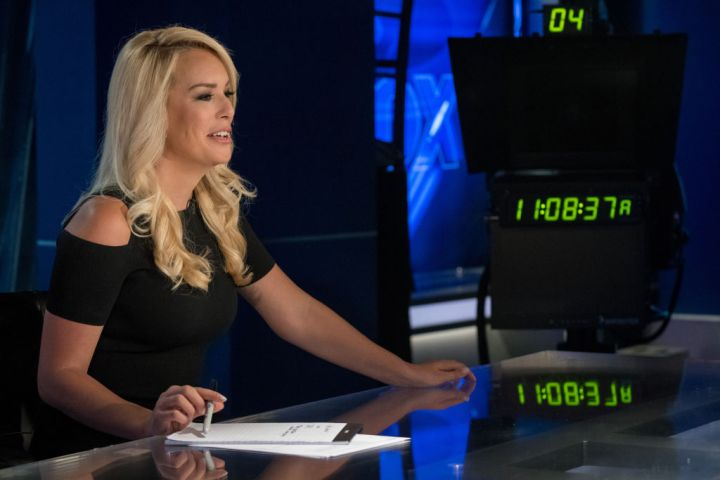 WASHINGTON DC - AUGUST 30:  Britt McHenry, a former ESPN reporter is making the transition to news on Fox and has a new show starting in October. She visits the Fox news set on August 30, 2018 in Washington, DC.  (Photo by Mary F. Calvert For The Washington Post via Getty Images)