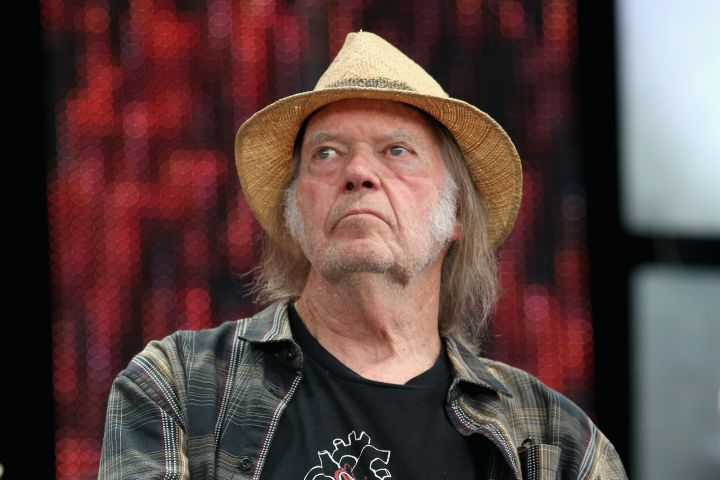 Neil Young. Photo: Gary Miller/Getty Images for Shock Ink