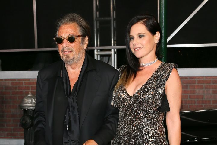Al Pacino and Meital Dohan. Photo: Jean Baptiste Lacroix/WireImage