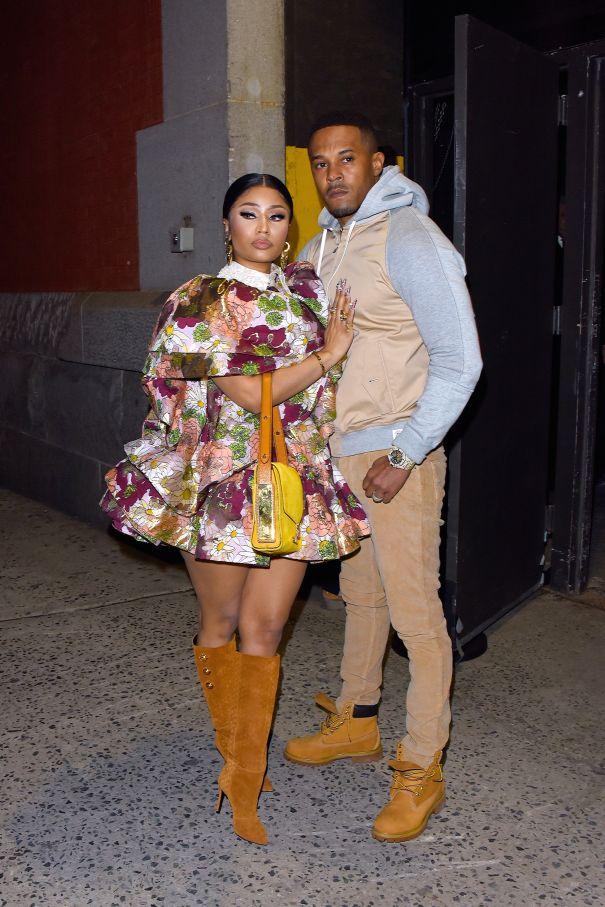 Nicki Minaj & Kenneth Petty Are Poised