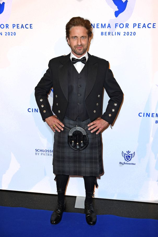 Gerard Butler Taps Into His Scottish Side