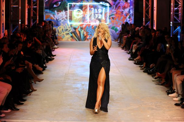 Bebe Rexha Performs On The Runway