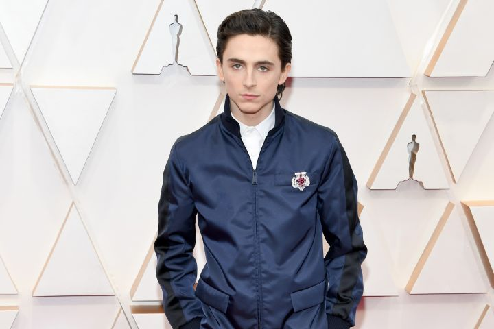 Timothee Chalamet. Photo by Kevin Mazur/Getty Images