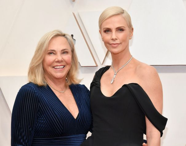 Charlize Theron And Gerda Jacoba Aletta Maritz