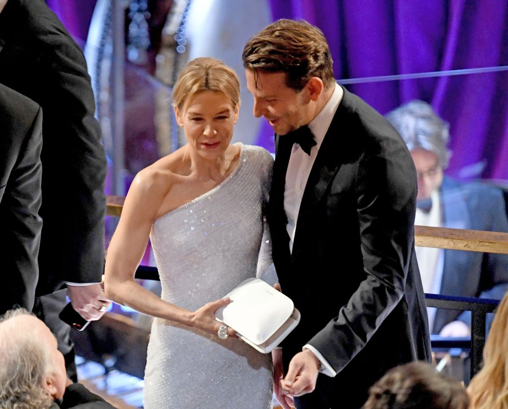Renée Zellweger and Bradley Cooper. Photo: Kevin Winter/Getty Images