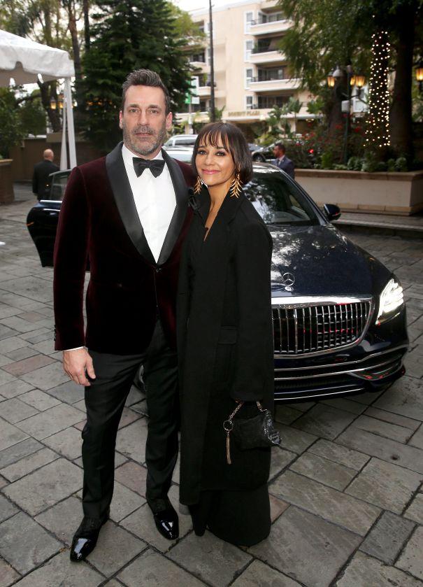 Jon Hamm And Rashida Jones
