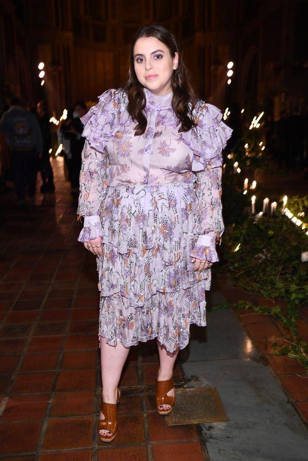 Beanie Feldstein Is Floral Fun