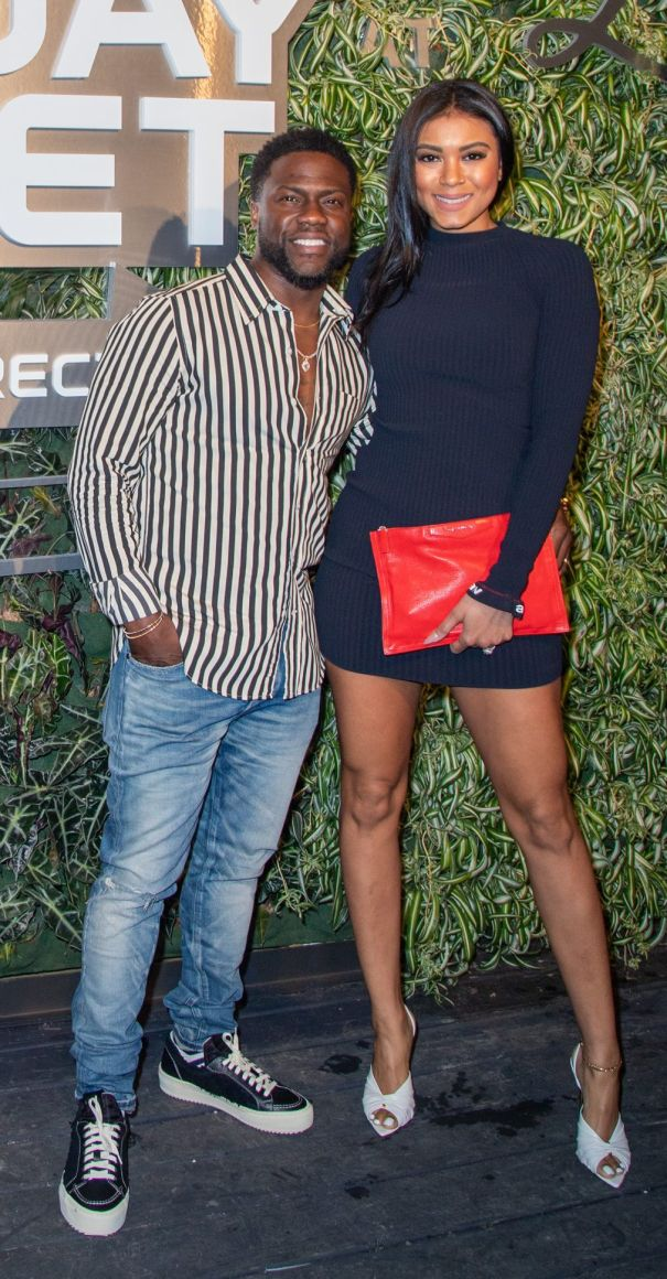 Kevin Hart and Eniko Parrish Party On