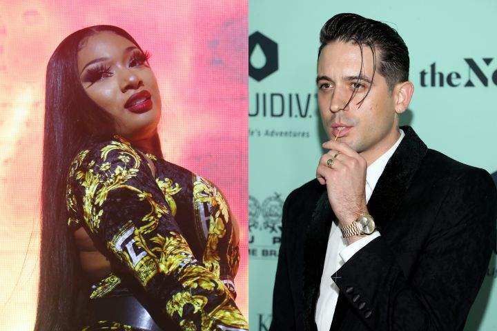Megan Thee Stallion, G-Eazy. Photo: Getty Images
