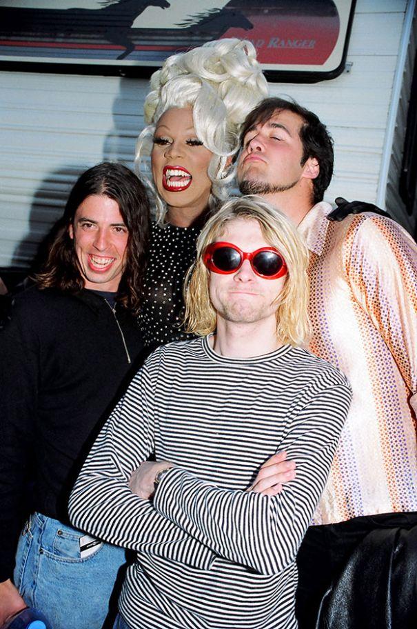 Nirvana Loved RuPaul