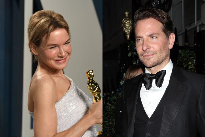 Renée Zellweger, Bradley Cooper. Photo: Getty Images