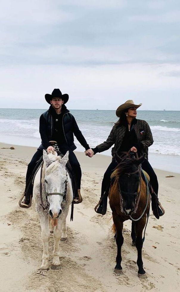 Romantic Horseback Date