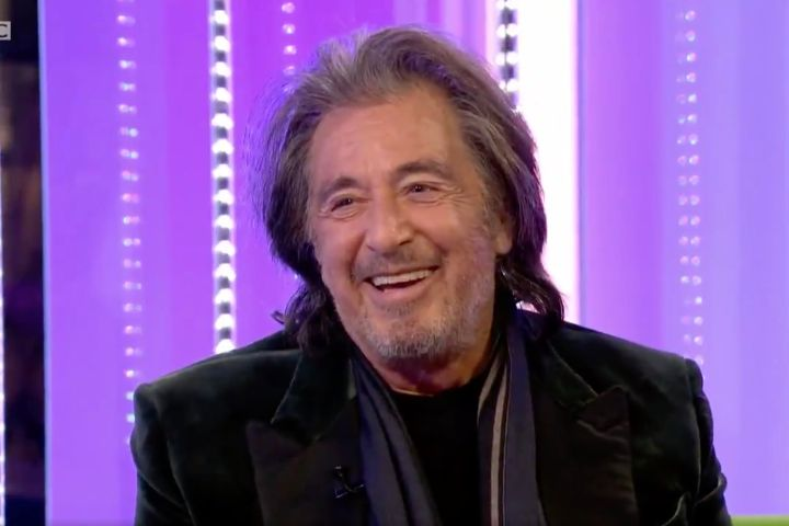 Al Pacino. Photo: BBC/Twitter
