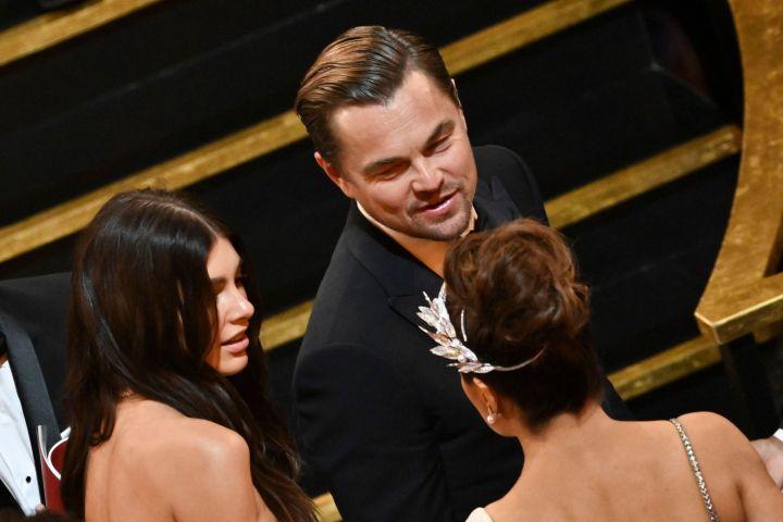 Camila Morrone and Leonardo DiCaprio. Photo: Shutterstock