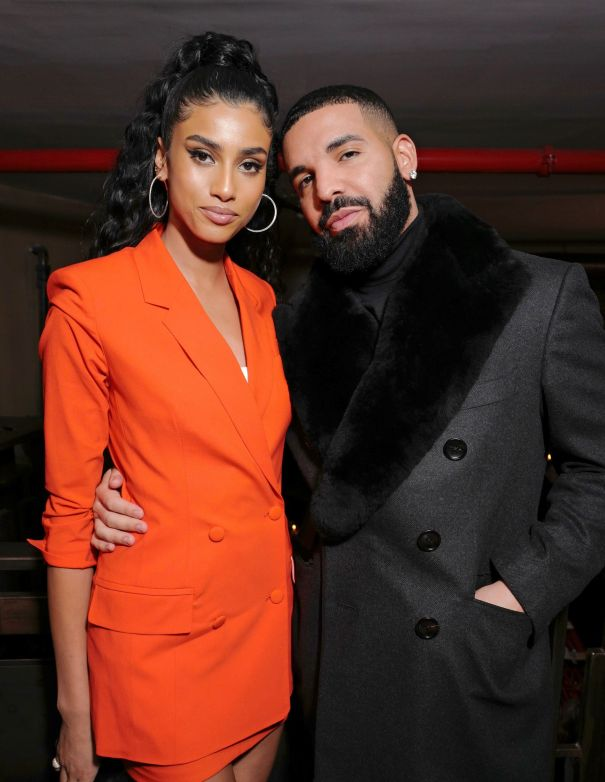 Imaan Hammam & Drake Are Picture Perfect