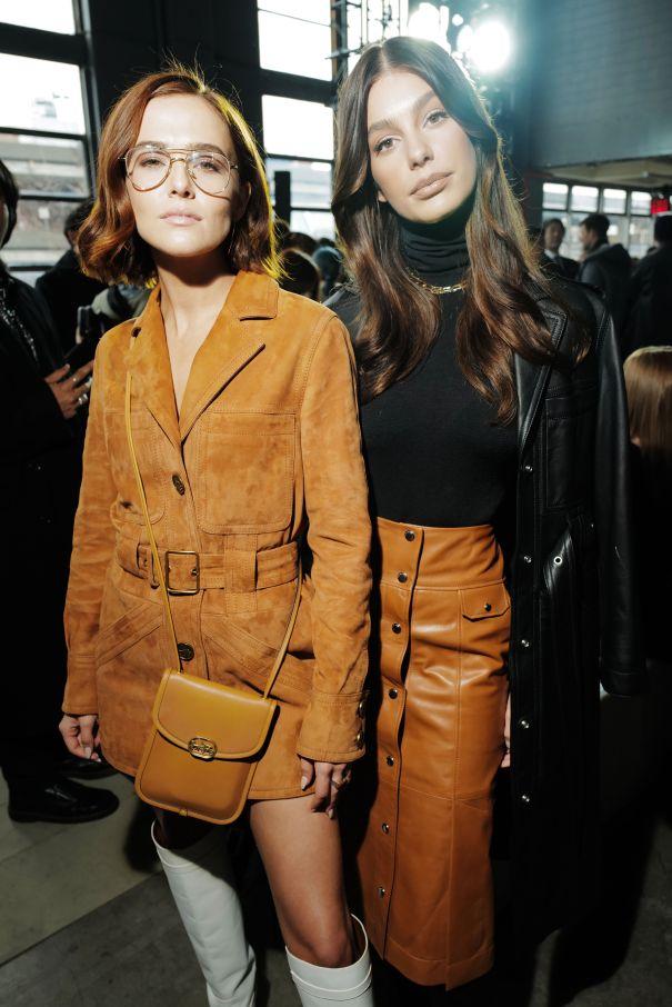 Zoey Deutch & Camila Morrone Strike A Pose