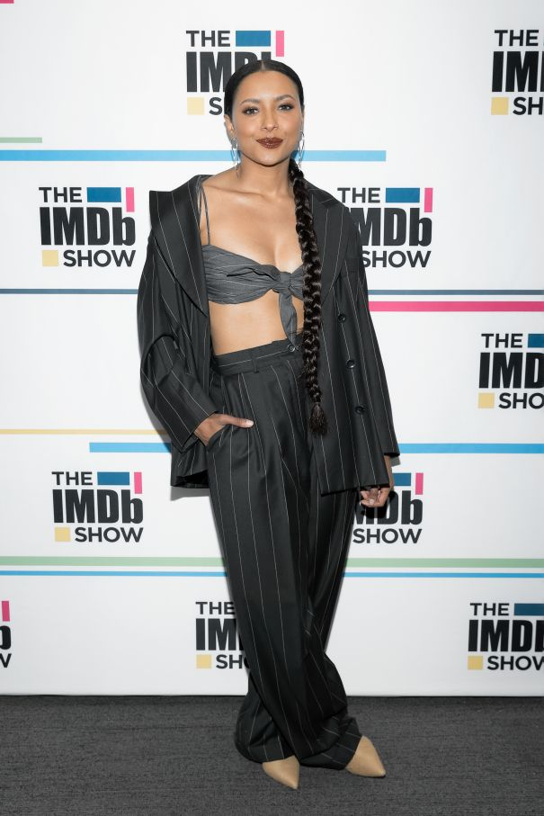 Kat Graham Chic In L.A.