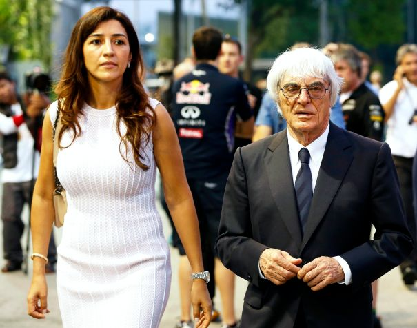 Bernie Ecclestone And Fabiana Flosi Expecting First Child Together