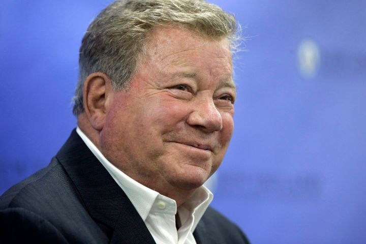 William Shatner. Photo: AP Photo/Steven Senne/CP Images