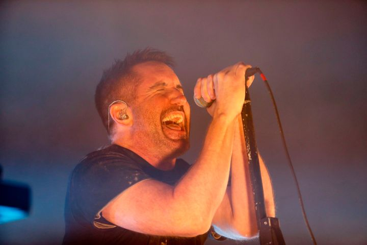 Trent Reznor of Nine Inch Nails. Photo: AP Photo/Eduardo Verdugo/CP Images