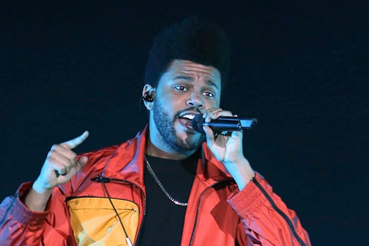 The Weeknd. Photo: AP Photo/Mahmoud Khaled/CP Images