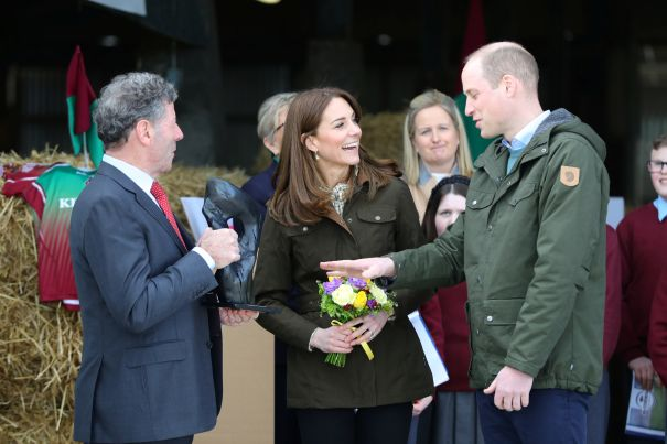 Prince William And Kate Middleton Visit Cattle Farm