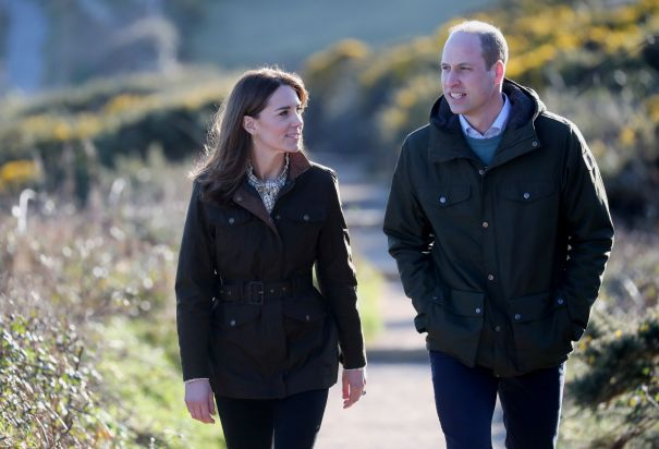 William And Kate Visit Howth Cliff