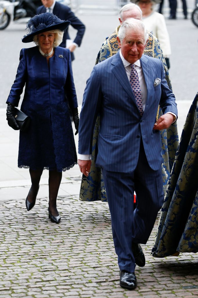 Britain's Prince Charles and Camilla, Duchess of Cornwall, arrive for the annual Commonwealth Service at Westminster Abbey in London, Britain March 9, 2020. REUTERS/Henry Nicholls