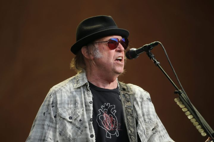 Neil Young. Photo: CP Images
