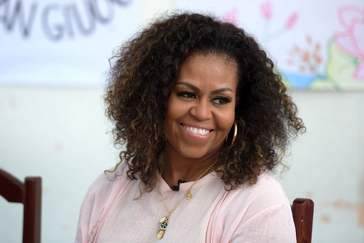 Michelel Obama. Photo: EPA/STR