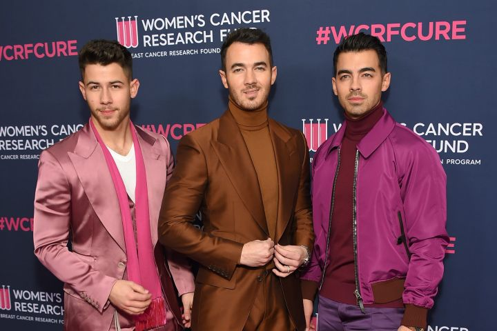Nick Jonas, Kevin Jonas, Joe Jonas. Photo: CP Images