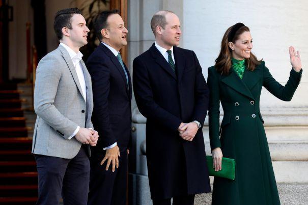 Royal Couple Meet With The Taoiseach