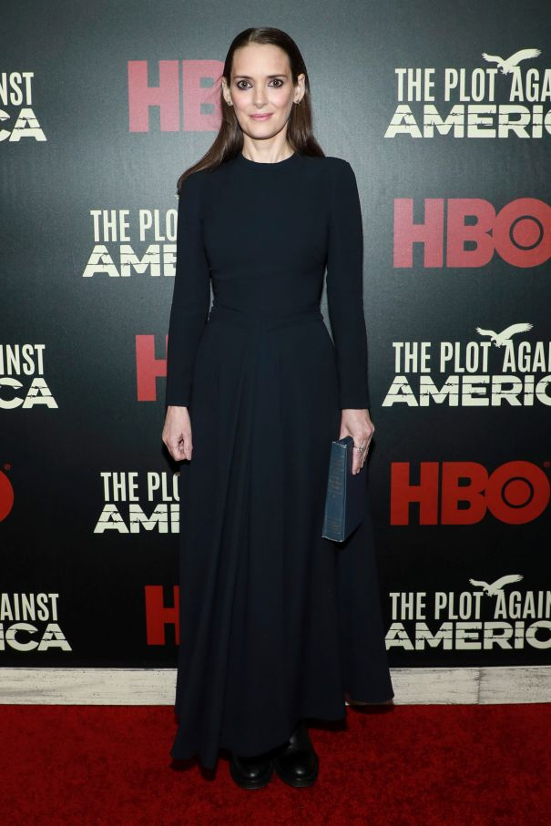 Winona Ryder At 'The Plot Against America' Premiere