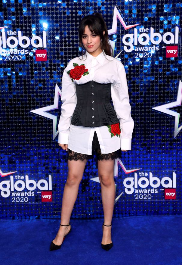 Camila Cabello At Global Awards