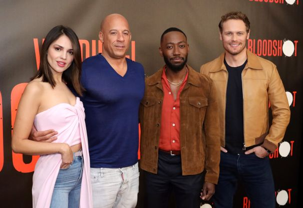 Vin Diesel And The 'Bloodshot' Cast