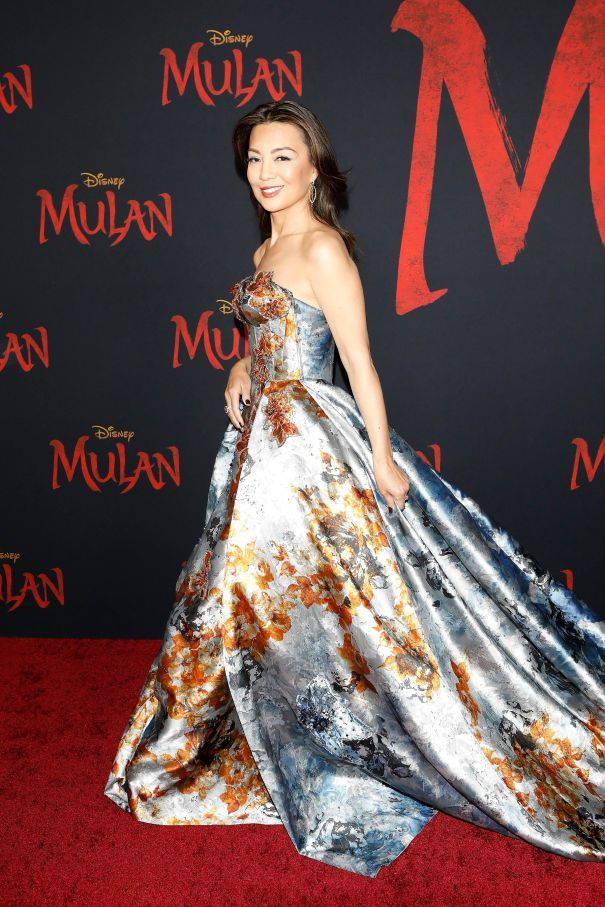 Ming-Na Wen At World Premiere of 'Mulan'