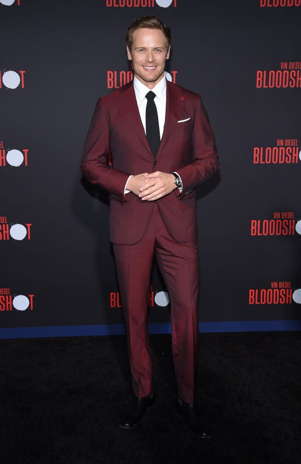 Sam Heughan At 'Bloodshot' Premiere