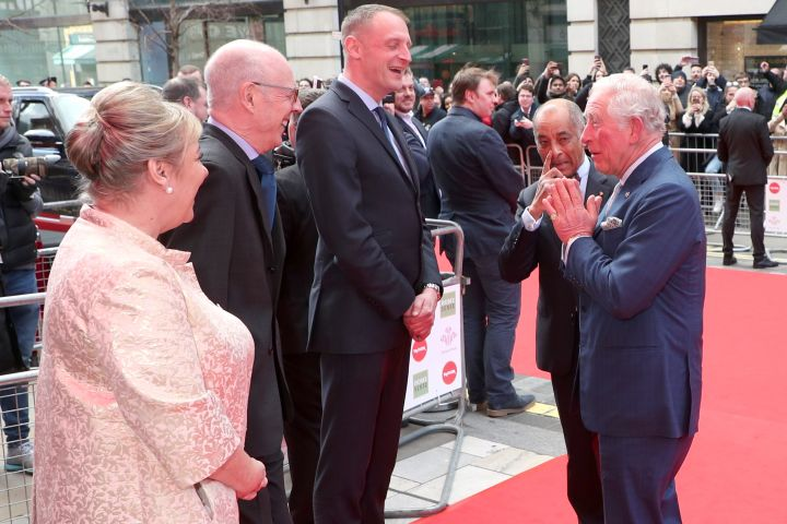 The Prince of Wales attending the annual Prince's Trust Awards 2020 held at the London Palladium.