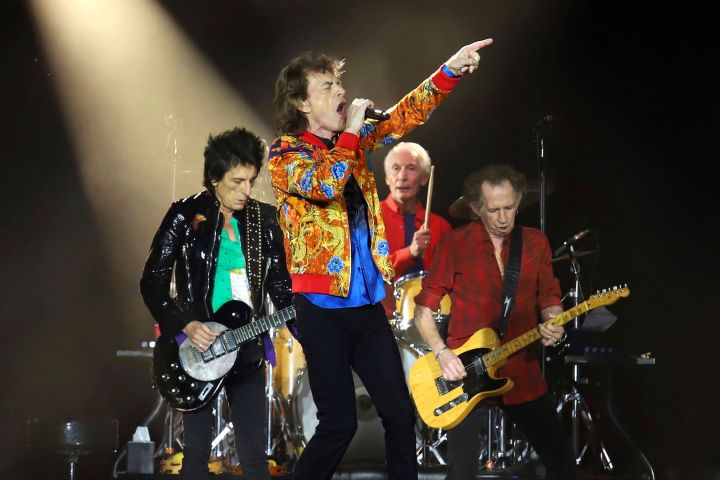 The Rolling Stones. Photo: Greg Allen/Invision/AP, File/CP Images