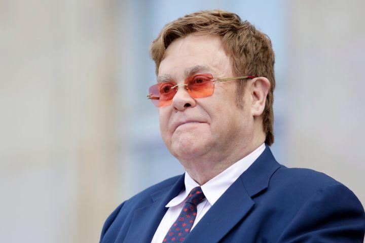 Elton John. Photo: AP Photo/Lewis Joly, Pool/CP Images