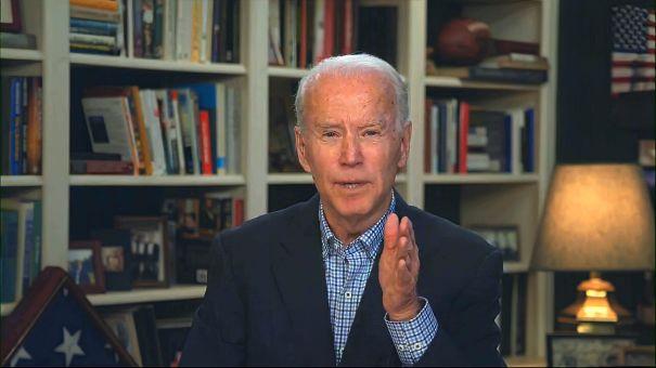 Joe Biden Zooms To 'The Tonight Show'