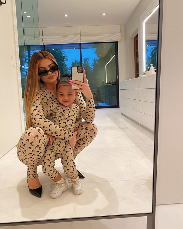 Kylie Jenner And Her 'Mini' Me Stormi