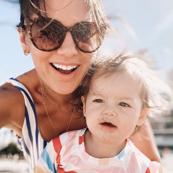 Jillian Harris' Beach Babe