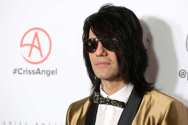 Criss Angel - Getty Images
