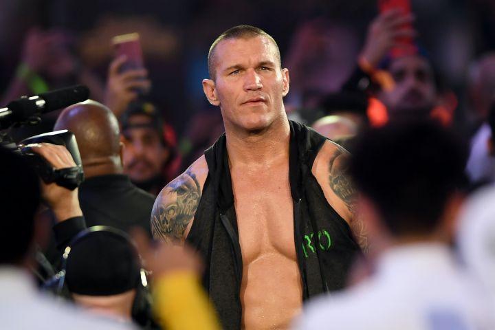 Randy Orton. Photo: AMER HILABI/AFP via Getty Images