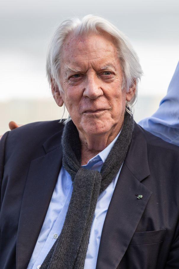 Donald Sutherland,  84