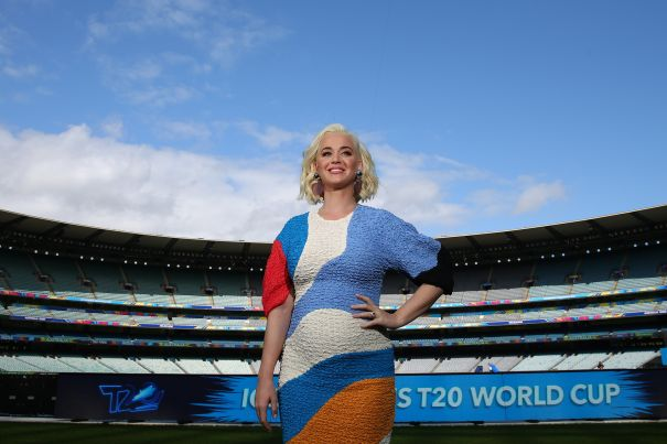Katy Perry At 2020 ICC Women's T20 World Cup