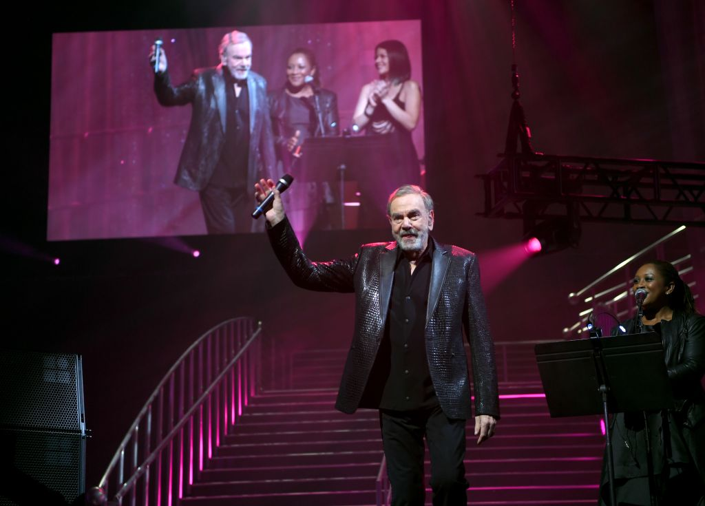 Neil Diamond performs onstage at the 24th annual Keep Memory Alive 'Power of Love Gala' benefit for the Cleveland Clinic Lou Ruvo Center for Brain Health at MGM Grand Garden Arena on March 07, 2020 in Las Vegas, Nevada. (Photo by Denise Truscello/Getty Images for Keep Memory Alive)